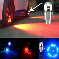 4pcs LED Dragonfly Car Wheel Air Valre Stem Cap Light Auto Tyle Tire Bulb Lamp