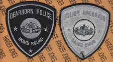 Dearborn Michigan Bomb Squad DPD Police Department shoulder patch