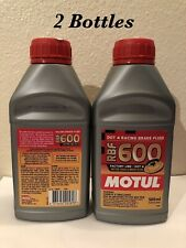 (2 X 500 ML) MOTUL RBF 600 FACTORY LINE DOT 4 RACING BRAKE FLUID SYNTHETIC