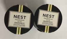 2 * NEST Mini Candle 0.95oz/each Grapefruit Travel Size NEW