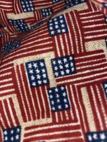 Longaberger Old Glory or Inaugural Small Oval Waste Basket Liner