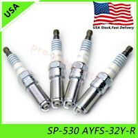 4x NEW SP-530 Spark Plugs AYFS-32Y-R Fits For Escape Lincoln MKZ SP530 US STOCKE