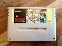 SNES GAME SUPER MARIO ALL STARS GAME ONLY SUPER NINTENDO ENTERTAINMENT SYSTEM