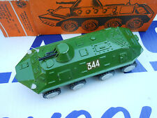 Vintage Russian USSR BTR-60PB Armored Personnel Carrier Diecast Vehicle in Box