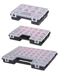 Organizer Sortimentskasten Kleinteilemagazin Schraubenbox Werkzeugkasten Schmuck