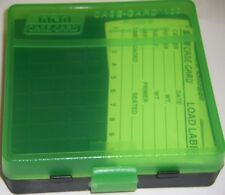 MTM Case Gard™ New MTM Plastic Ammo Box 100 Round 9mm / 380 P100-9-16T Blk/Green