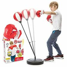 Punching Bag Gift Xmas For Kids Incl Boxing Gloves 3-8 Years Old With Stand