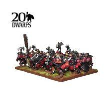 Kings of War enano los interruptores Regimiento (Mantic cifras de escudo KWD24-1) publica GRATIS