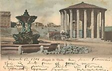 Rome, Italy,The Temple of Vesta,Used,1901