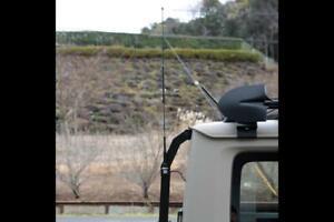 APIO Steel Rear Ladder Antenna Bracket for the Suzuki Jimny Sierra JB74