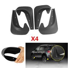 4pcs EVA Plastic Universal Car Mud Flaps Splash Guards Front&Rear Mudflaps Kit
