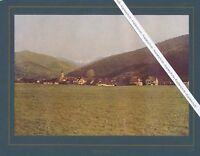 Günterstal Schwarzwald - Gesamtansicht - Schmuckblatt um 1920 - selten - R 11-4