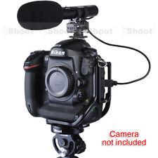 Stereo DC/DV Microphone MIC Mikrofon fr Nikon Kamera D5300 D5200 D5100 D610 D600
