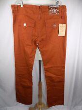 NWT True Religion Billy Super T w/ Flap Rust Denim Jeans Men's 40 x 35