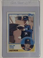 Nolan Ryan 1983 Topps card #360 Houston Astros HOF