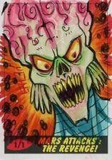 Mars Attacks The Revenge Sketch Card By Brad Hudson