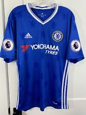 AUTHENTIC Adidas Chelsea FC 2016-17 Football Soccer Jersey Mens Medium AI4411