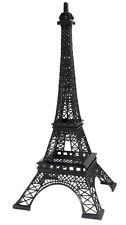 "20"" Tall Giant Paris France BLACK Metal Eiffel Tower Stand Model Table Decor"