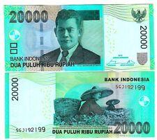 L' Indonesia Indonesia 20000 20.000 rupia 2014 UNC P 151 D