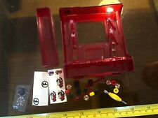 Tech Deck Finger Skate Board Skateboard Stand and Tool Wheels Plate etc Toy VGC