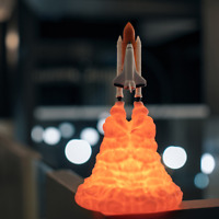 Space Shuttle Enterprise Lamp Night Light / Room Decoration / Night Light