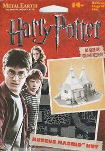 Metal Earth Harry Potter HAGRID'S HUT 3D Metal Model
