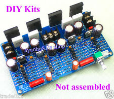 HIFI Audiophile Grade Fully Symmetrical Discrete Power Amplifier Board DIY Kits