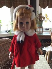 Vintage Chatty Cathy 1960 Prototype #1 Doll With Tagged Coat And Head Band