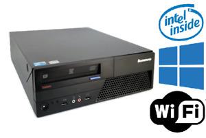 Lenovo Desktop - Thinkcentre - 2.93 GHz - 4GB RAM - 250GB HDD - Windows 10 PRO
