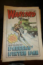 WARLORD Comic - Issue 340 - Date 28/03/1981 - UK Paper Comic
