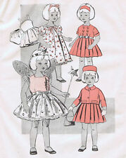 "14263 Vintage Chubby Fairy Doll Pattern - Size 12"" - Year 1951"