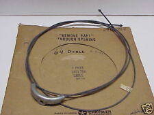 NOS 1963,1964 Dodge 330,440,Polara Emergency Brake Cable