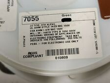 Alpha 7055 #22awg Tinned Copper Hook-Up Wire XLPVC MIL-W-16878E 150V GREEN /50ft