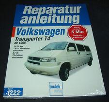 Reparaturanleitung VW Transporter T4 Bulli mit 4 + 5 Zylinder Motor ab 1995 NEU!