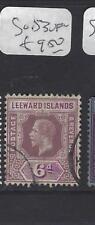 LEEWARD ISLANDS (P1610B)  KGV  6 D   SG 53    VFU