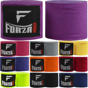 """Forza Sports 120"""" Mexican Style Boxing and MMA Handwraps - 10-Pack"""