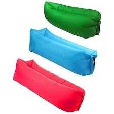 Outdoor Lounge Lazy Inflatable Sofa Camping Sleeping Air Bed Various Colours