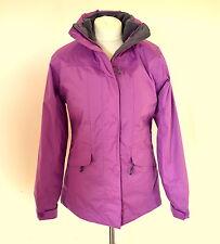 JOULES KESWICK Womens Purple 3-in-1 Waterproof Jacket & Fleece