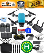 DJI Spark Fly More Combo (Sky Blue)!! EXTREME ACCESSORY BUNDLE BRAND NEW!!