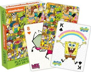 Nickelodeon Cast set of 52 playing cards (+ jokers) (nm)
