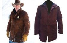 LONGMIRE SHERIFF WALT ROBERT TAYLOR LONGMIRE COW HIDE MEN'S LEATHER COAT JACKET