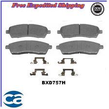 Disc Brake Pads ceramic Rear BXD757H fits, 99-04 Ford F-350 Super Duty