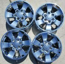 17 Toyota 4runner Factory Chrome Oem Alloy Wheels Rims 2010 2013 17x7 69562 Fits 2004 Toyota Tundra