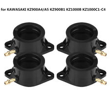 4Pcs Carburetor Intake Manifold Boot for KAWASAKI KZ900A4/A5 KZ900B1 KZ1000B LJ4