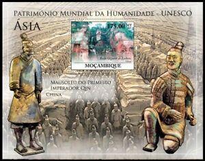 Mozambique 2010 MNH MS, UNESCO, Leshan Giant Buddha in China