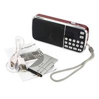 Portable Hifi Mini Multifunctional Digital Mp3 Radio Speaker Usb Tf Fm Radio BI