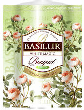 Basilur tea magie blanche-milk oolong en vrac thé vert - 100g-tin caddy