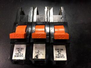 Federal Electric Stablok SP MCB CNA TYPE 3 'C'