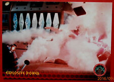DR WHO AND THE DALEKS - Card #16 - Explosive Power - Unstoppable Cards 2014