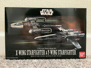 Bandai Star Wars 1/144 X-Wing & Y-Wing Star Fighter Model Kit NEW